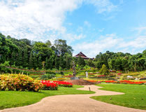 Beautiful garden in royal palace, Chiangrai, Thailand  Stock Image