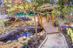Beautiful garden at spring, Taman Botani Negara Shah Alam, Malaysia Royalty Free Stock Photography