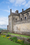 Queen Anne's garden at Stirling Castle, Scotland. Beautiful garden with perennial flowers inside Stirling Castle, Scotland. A peaceful and pretty garden on the Royalty Free Stock Images
