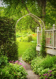 Beautiful Garden. Stock Photo