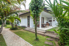 Beautiful Garden villa hotel Stock Photography