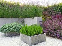 Free Beautiful Garden With Contemporary Design Royalty Free Stock Photos - 67770118