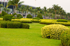 Beautiful gardens. Royalty Free Stock Images