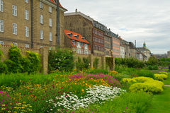 Beautiful gardens in Copenhagen Stock Photo