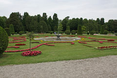 Beautiful gardens in Vienna Stock Images
