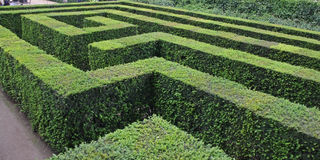 Beautiful gardens in Vienna Stock Photography