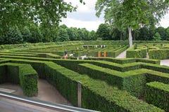 Beautiful gardens in Vienna Royalty Free Stock Photos