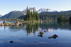 Beautiful Garibaldi lake Royalty Free Stock Images