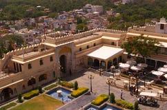 Gate of Udaipur Palace royalty free stock image