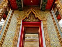Beautiful gate at Wat Ratchabopit Stock Photo