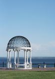 Beautiful Gazebo by the Lake Royalty Free Stock Photos