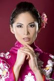 Beautiful geisha Royalty Free Stock Photo