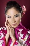 Beautiful geisha Stock Image