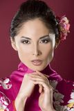 Beautiful geisha Royalty Free Stock Images