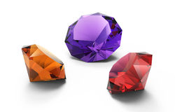 Beautiful gems Stock Images
