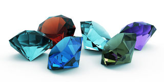 Beautiful gems Royalty Free Stock Photos