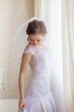 Beautiful gentle bride wedding Royalty Free Stock Image
