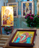 Beautiful Georgia church altar Royalty Free Stock Image