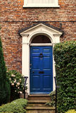 Beautiful Georgian house doorway in the UK Stock Photos