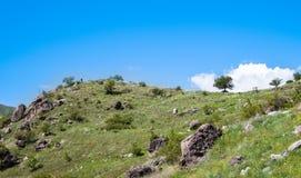 Beautiful Georgian landscape in summer Stock Image