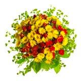 Beautiful Gerberas And Roses Royalty Free Stock Photo
