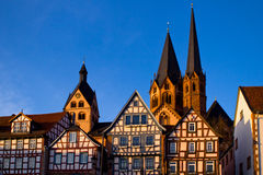 Beautiful German architecture Royalty Free Stock Image