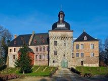 Beautiful german castle Schloss Liedberg royalty free stock photos