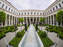 The beautiful Getty Villa. Los Angeles, JUL 20: The beautiful Getty Villa on JUL 20,2014 at Los Angeles Stock Photography