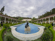 The beautiful Getty Villa. Los Angeles, JUL 20: The beautiful Getty Villa on JUL 20,2014 at Los Angeles Stock Images