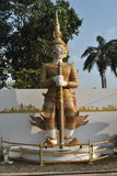 Beautiful Gient standing statue in Thailand. Unseen Travel Royalty Free Stock Photos