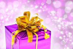 Beautiful gift Royalty Free Stock Image