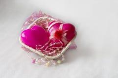 Beautiful gift basket Royalty Free Stock Image