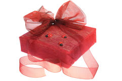 Beautiful gift box Royalty Free Stock Images