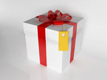 A beautiful gift box Royalty Free Stock Photos