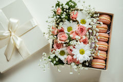 Beautiful Gift Box Royalty Free Stock Photography