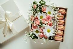 Beautiful Gift Box Royalty Free Stock Photography