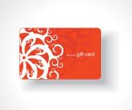 Beautiful gift card. Vector illustration Royalty Free Stock Image