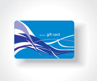 Beautiful gift card Stock Image