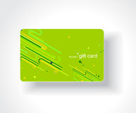 Beautiful gift card. Vector illustration Royalty Free Stock Images