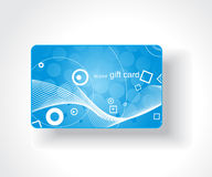 Beautiful gift card Royalty Free Stock Images