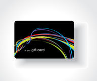 Beautiful gift card Royalty Free Stock Image