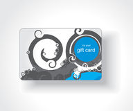 Beautiful gift card Royalty Free Stock Photography