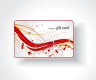 Beautiful gift card. Illustration Stock Image