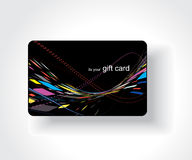 Beautiful gift card Royalty Free Stock Photo