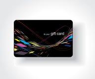 Beautiful gift card. Illustration Royalty Free Stock Photo