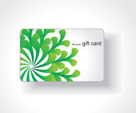 Beautiful gift card Royalty Free Stock Image