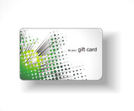 Beautiful gift card. Illustration Stock Images