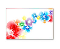 Beautiful gift card Royalty Free Stock Photos