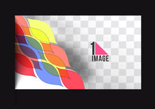 Beautiful gift card. Design, vector illustration Stock Images
