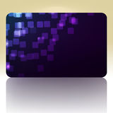 Beautiful gift card. EPS 8 Stock Photography